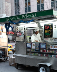 Kwik Meal in midtown New York City.