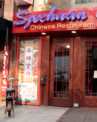 Szechuan Gourmet in midtown New York City.