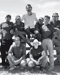 Pierro Incisa della Rocchetta and his winery's workers makes spectacular Patagonia wine.