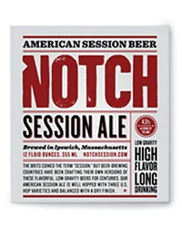 Lower-alochol brews: Notch Session