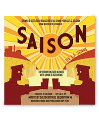 Lower-alochol brews: Saison de la Senne