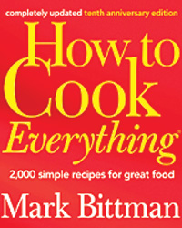 Josh Charles Pick: Mark Bittman's How to Cook Everything
