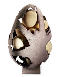 Pastry chef Oriol Balaguer's Atomic Egg