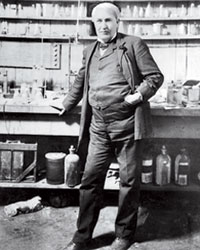 Chef Heroes: Thomas Edison.