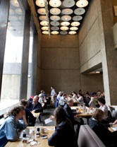 The dining room at Untitled.
