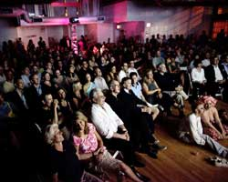 A full house at the 2010 NYC Food Film Festival.