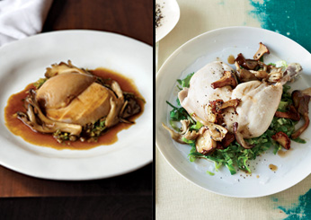 David Bouley: Pot-Roasted Chicken with Mushrooms