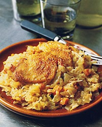 Chicken with Sauerkraut