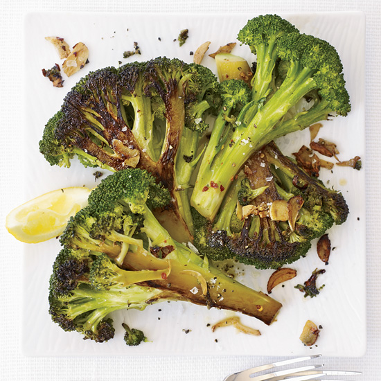 Caramelized Broccoli with Garlic