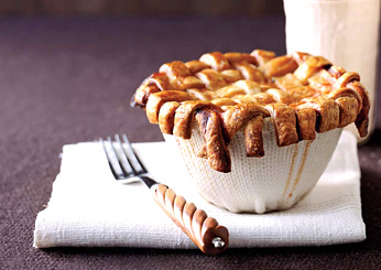 Vegetarian Thanksgiving: Lattice-Crusted Minestrone Pot Pies