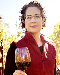 Wine expert Janet Myers