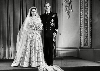 Princess Elizabeth (Queen Elizabeth II) and Philip Mountbatten (Prince Philip) of Greece, 1947