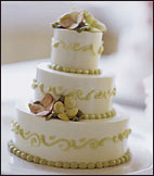 Chocolate-Hazelnut Wedding Cake