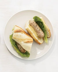 Provencal-Style Chicken Sausage