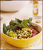 Warm Succotash Salad