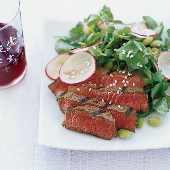 Grilled Beef with Sesame Dressing