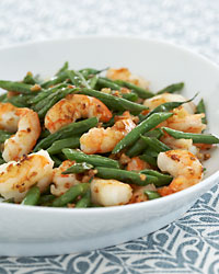 Stir Fried Green Beans With Shrimp And Garlic Recipe Eric Banh