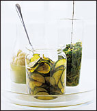 Saffron-Cucumber Pickles