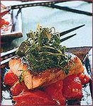 Pan-Fried Striped Bass with Stir-Fried Tomatoes and Dill