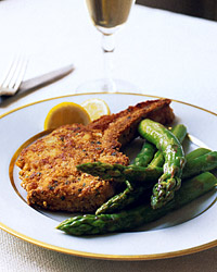 Veal Chops Milanese with Sage