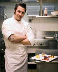 Pastry chef and Top Chef: Just Desserts judge Johnny Iuzzini.