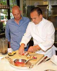 An intimate demo with chef Jean-Georges Vongerichten.