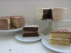 Layer Cakes from Seattle's Dahlia Bakery