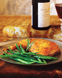 Chicken with Wine and Tarragon Recipe