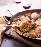 Winter-Vegetable Chicken Paella