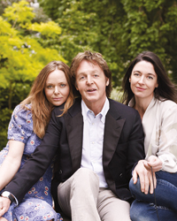 Healthy Eating Tips: Paul, Stella and Mary McCartney
