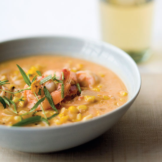 Shrimp-and-Corn Bisque