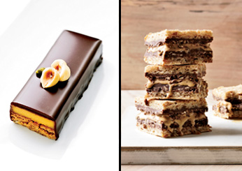 Alain Ducasse: Hazelnut, Nutella and Caramel Ice Cream Sandwiches