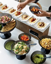 Party Food Ideas: Taco Station
