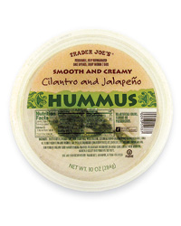 Trader Joe's Party Planning Picks: Cilantro and Jalapeño Hummus