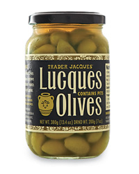 Trader Joe's Party Planning Picks: Lucques Green Olives