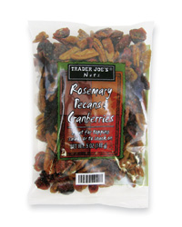 Trader Joe's Party Planning Picks: Rosemary Pecans and Cranberries
