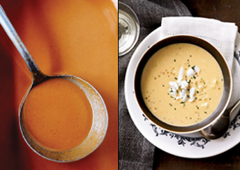 John Besh's New Orleans Recipes: Shrimp Bisque with Crab and Tapioca