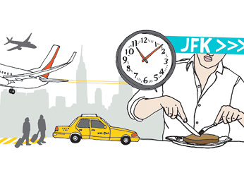 Airport Restaurants: John F. Kennedy International