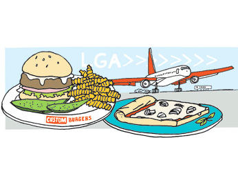 Airport Restaurants: New York's LaGuardia