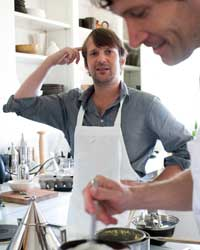 René Redzepi and Daniel Patterson: In the kitchen