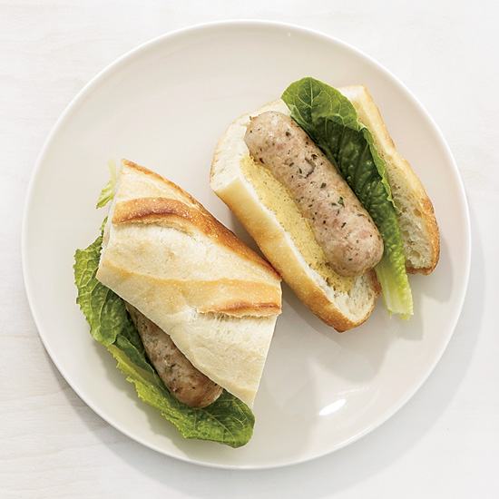Better-than-Ballpark Chicken Sausage