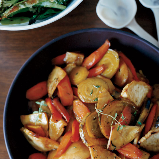 Honey-Glazed Roasted  Root Vegetables
