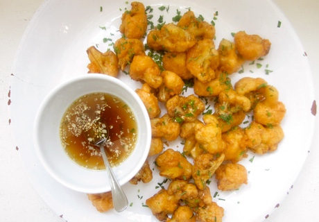 Fried Cauliflower with Fish Sauce