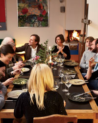 German recipes: A Berlin Dinner Party