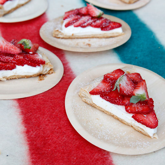 Strawberry Tart with Flaky Pastry