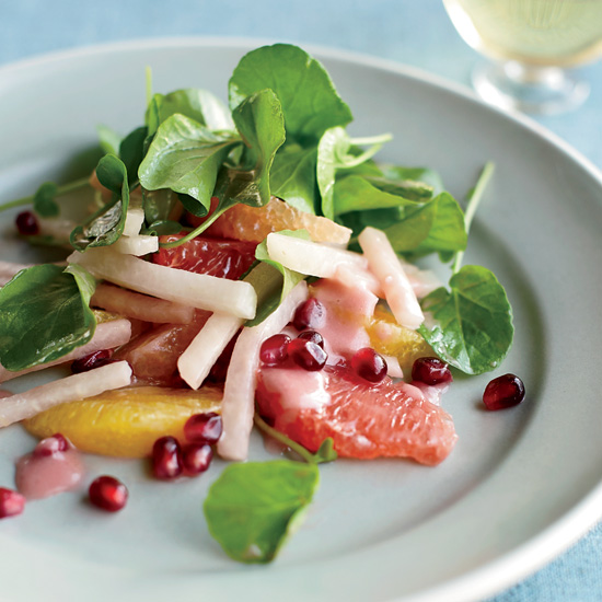 Spring Recipes: Jicama, Citrus and Watercress Salad