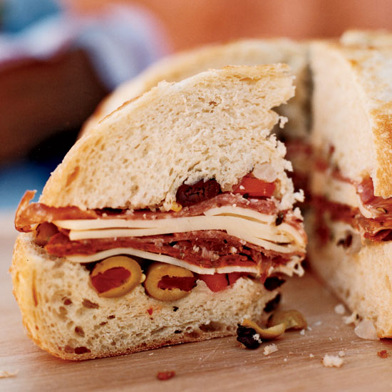Emeril's Muffuletta