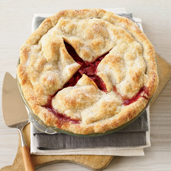 Spring Recipes: Deep-Dish Strawberry-Rhubarb Pie