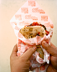 Carne Asada Sandwiches at Tortas Wash Mobile