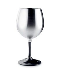 Camping Recipes: Stainless Steel Wineglass